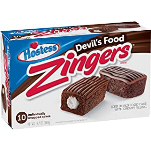 Hostess Devil's Food Zingers, 10 Count