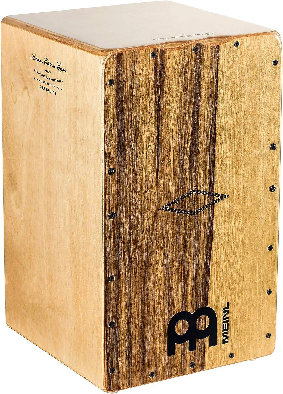 Meinl Artisan String Cajon with Limba Frontplate / Baltic Birch Body - MADE IN SPAIN - Tango Line, 2-YEAR WARRANTY