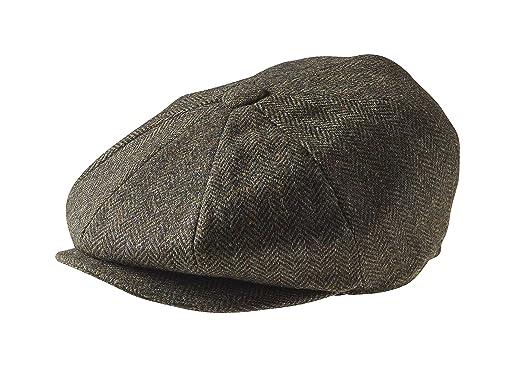 de08c3dd2b4 Peaky Blinders Men   s 8 Piece   Newsboy   Style Flat Cap Wool (Large