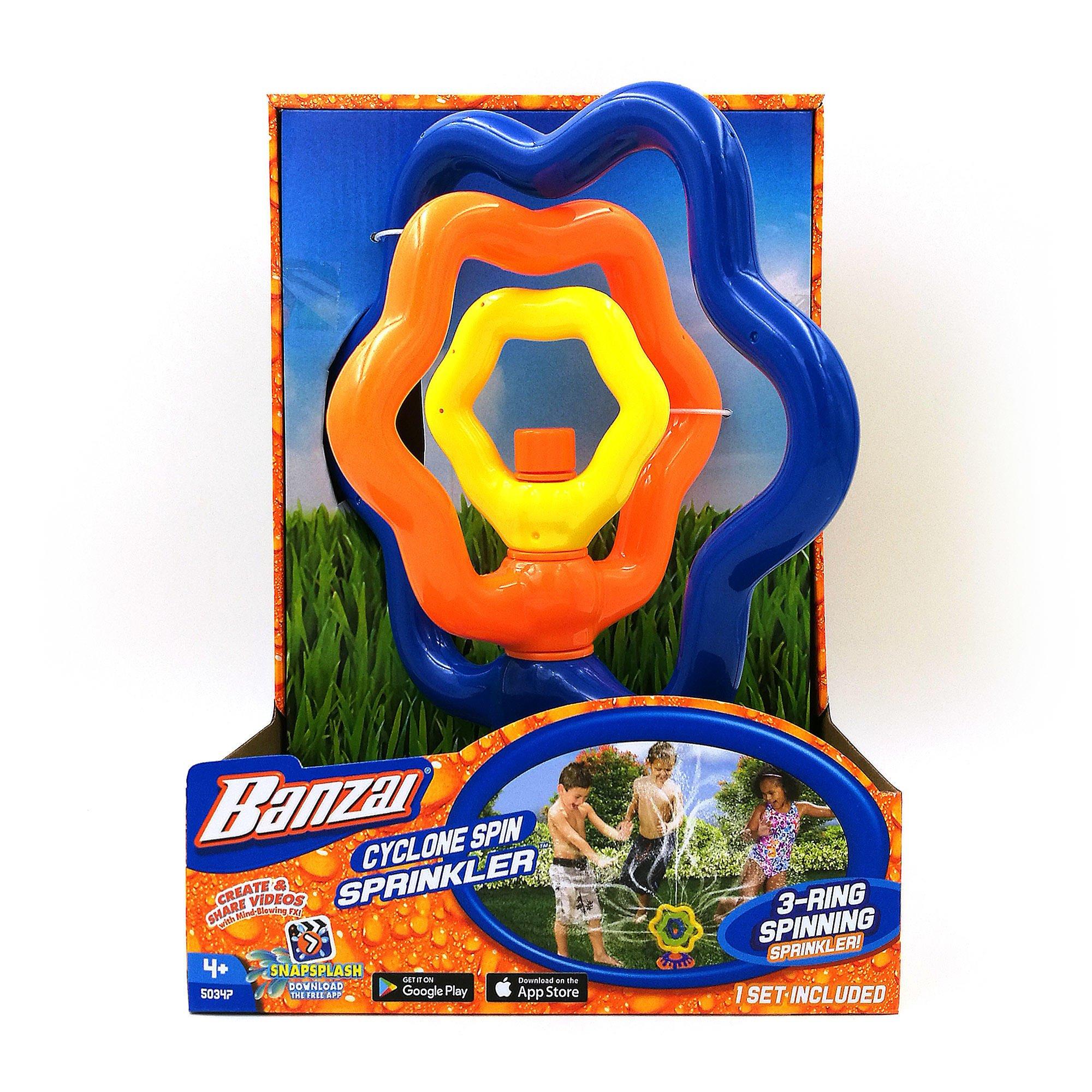 Banzai Cyclone Spin Sprinkler Water Sprinkler