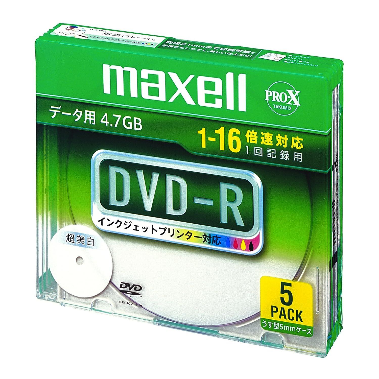 Amazon | maxell データ用 DVD-R...