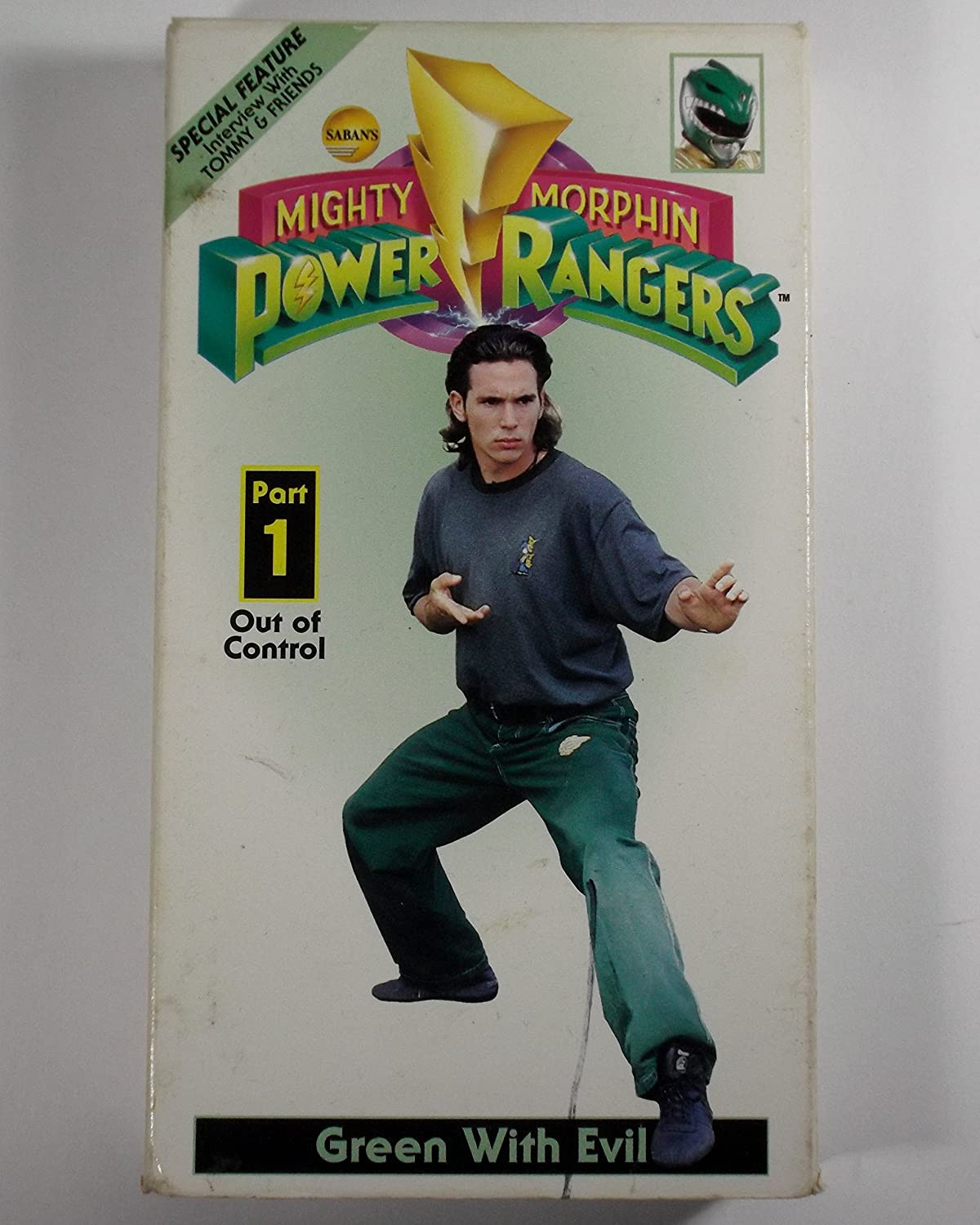 Amazon.com: Mighty Morphin Power Rangers: Green With Evil Part 1 Out of  Control/ TV Show [VHS]: Schrier, Paul, Blizek, John, Blyth, David,  Bronaugh, Vickie, Carr, Adrian, Florentine, Isaac, Garabidian, Armand,  Garibaldi, Marco,