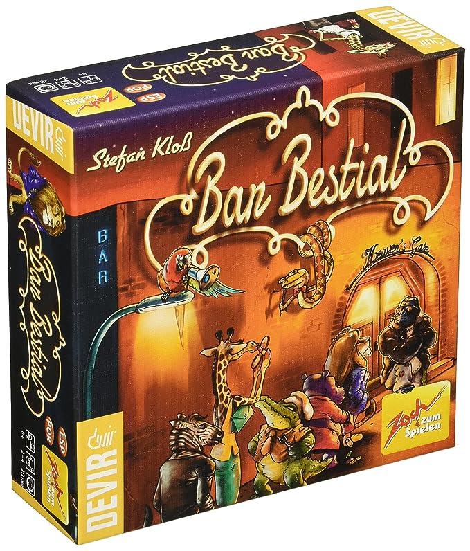 Devir Iberia - Bar Bestial, Juego de Cartas (223675): Amazon.es ...