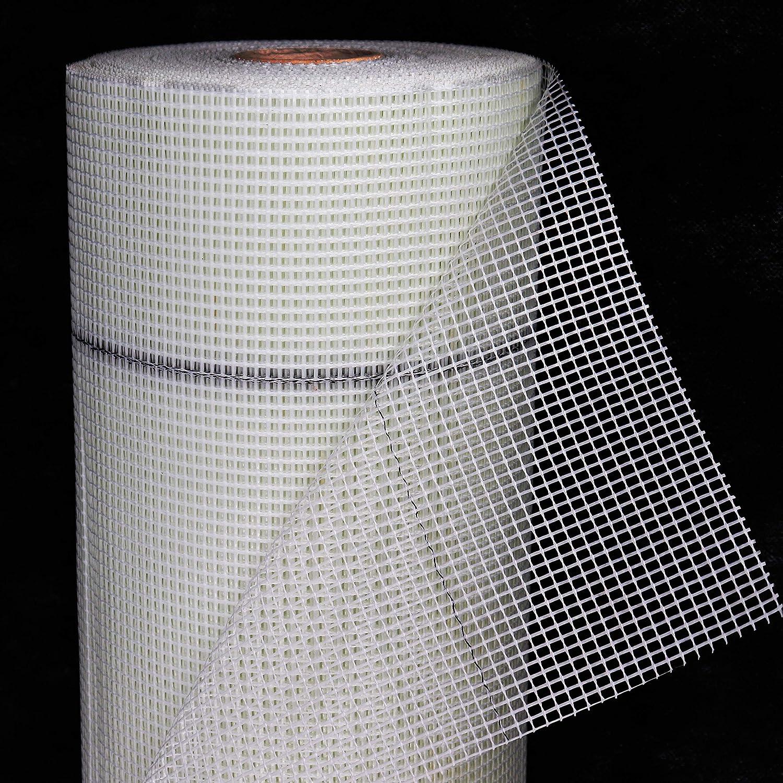 Armierungsgewebe 50 m² 165 g//m² GELB 4x4 mm Gewebe Glasfasergewebe Putzgewebe