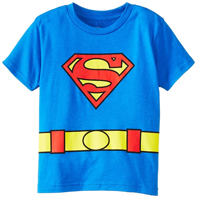 f9b12a29 Amazon.com: DC Comics costume Superman Logo Caped T-Shirt: Clothing
