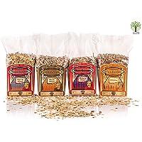 Axtschlag Räucherchips Mischungen, Wood Chips für den Geschmackskick, für Holzkohle-, Gas- und Elektro-Grill