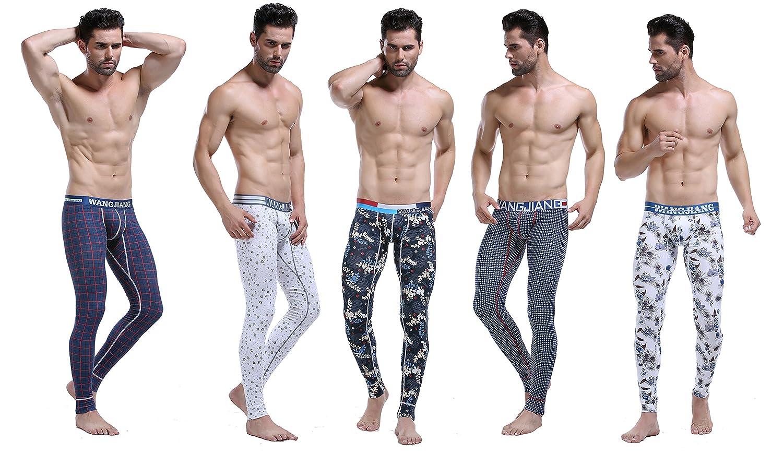 ARCITON Men's Low Rise Leggings Long Johns Thermal Pant 5005-cku