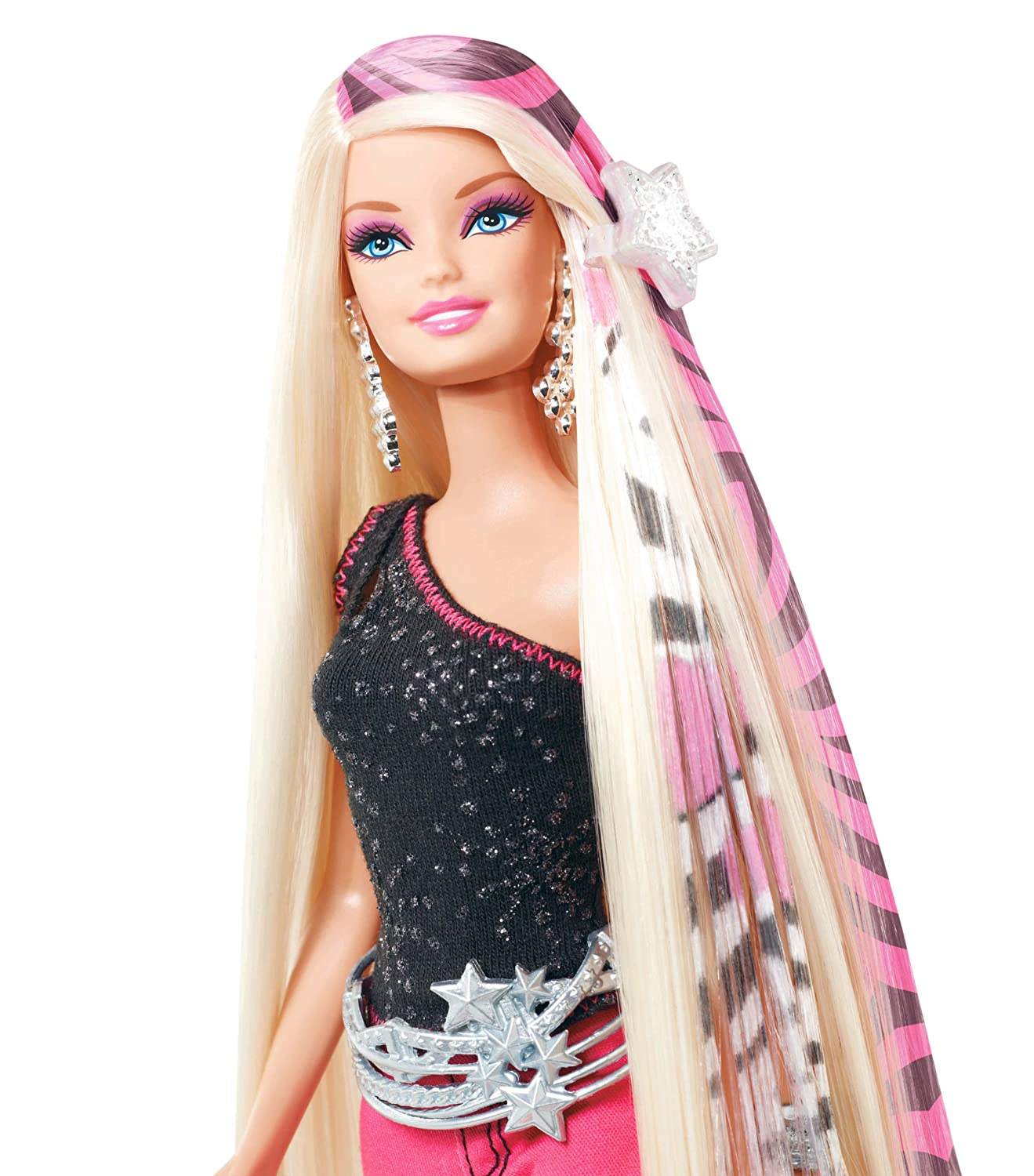 Amazon barbie designable hair extensions doll toys games pmusecretfo Gallery