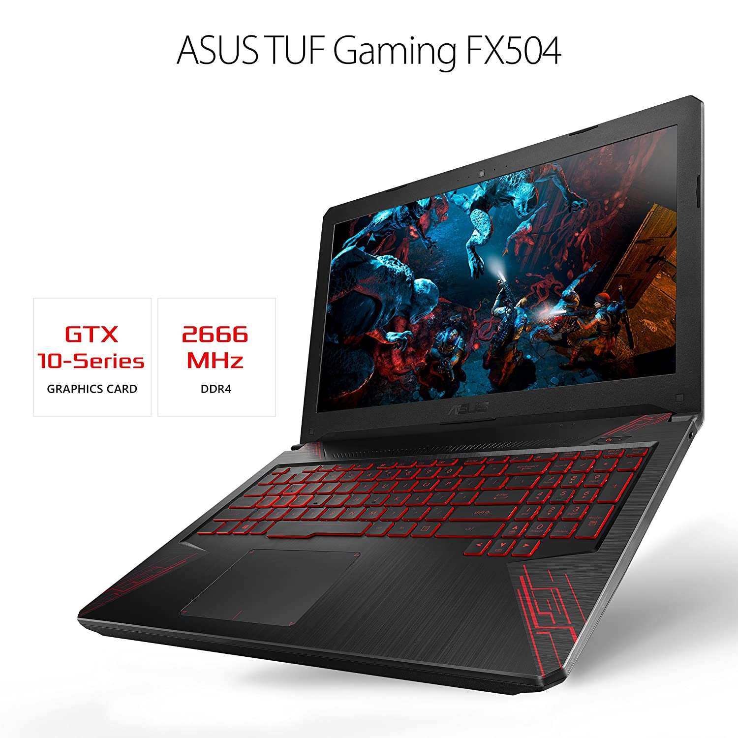 ASUS TUF FX504GD-ES51 15.6 inch Gaming Laptop