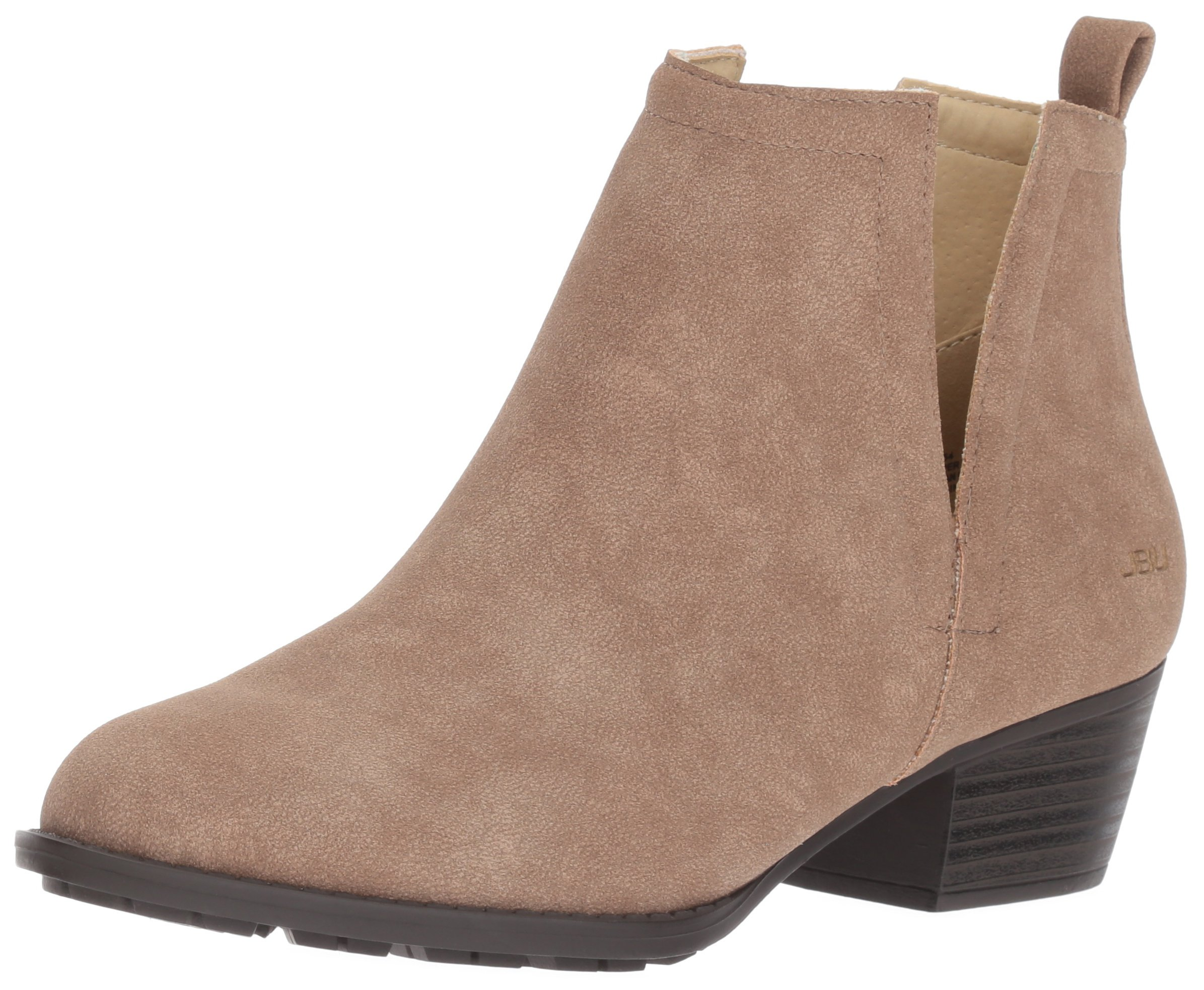 JBU by Jambu Women's Parker Ankle Bootie, Taupe, 9.5 M US