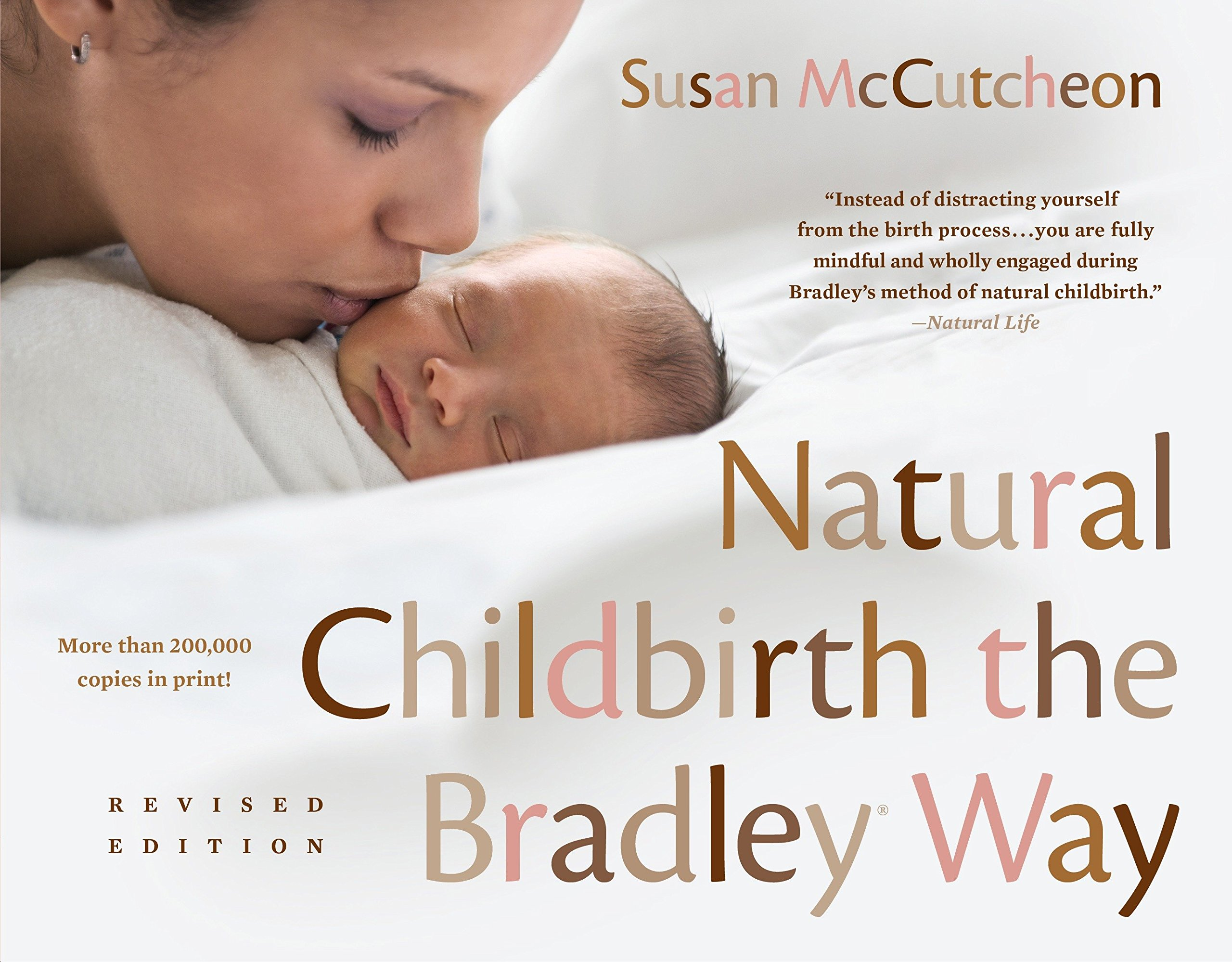 Natural Childbirth the Bradley Way: Revised Edition by Plume