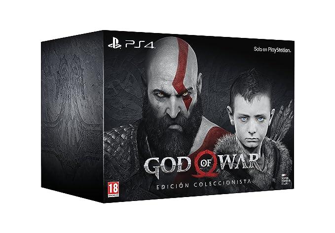 God Of War - Edición Coleccionista: PlayStation 4: Amazon.es ...