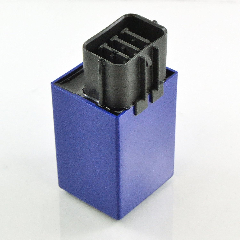 Fuel Pump Waterproof Relay 15A x2 For Honda TRX 420 Rancher 680 Rincon 700 XX 500 Fourtrax Foreman 2007 2008 2009 2010 2011 2012 2013 2014 2015 2016 2017 2018 OEM Repl.# 38580-HP5-601 38580-HP5-600 RMSTATOR