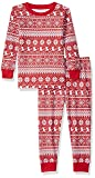 Amazon Essentials Baby 2-Piece Pajama Set, Red