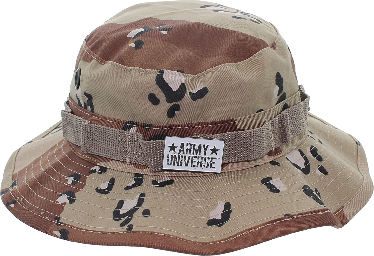 Army Universe Tactical Boonie Hat Military Camo Bucket Wide Brim Sun ... 5fea77f51f0