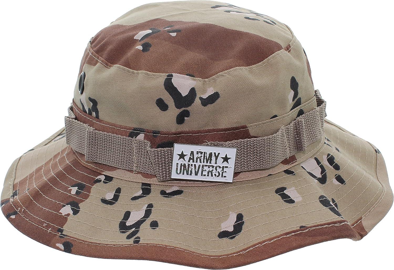 Army Universe Tactical Boonie Hat Military Camo Bucket Wide Brim Sun ... 3704eb35738c