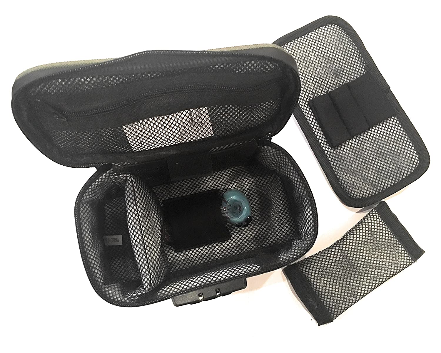 Motaa Smell Proof Case W Combo Lock With Activated Taa Furla Metropolis Comic Carbon Mesh Material Includes A Bonus Incense Spoon Dark Green Health Personal Care