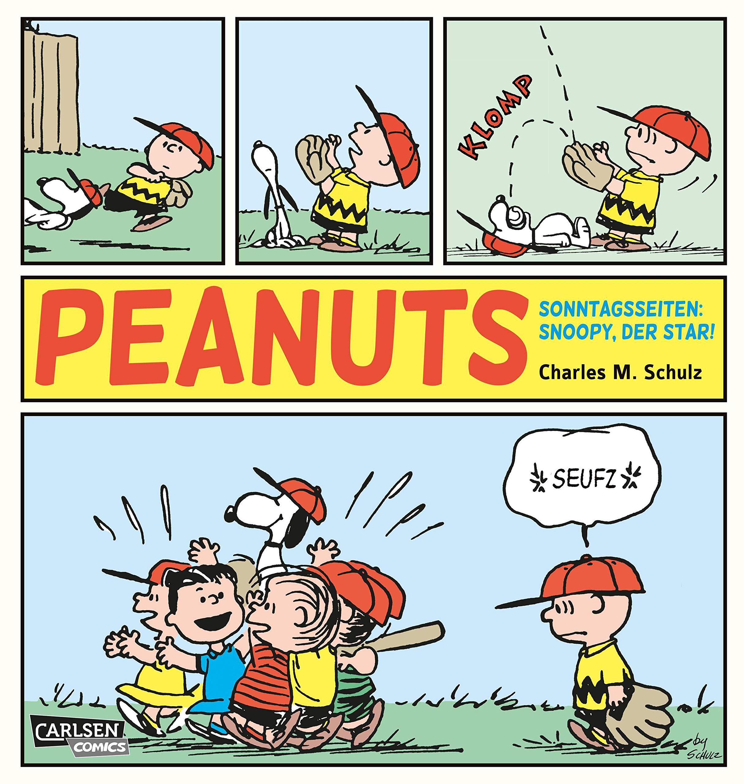 Peanuts Sonntagsseiten 1  Peanuts  Snoopy Der Star   1