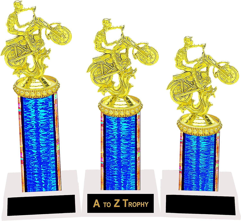 Award Gift 28cm Tall Free Engraving Motor Bike Racing Super Bike Trophy