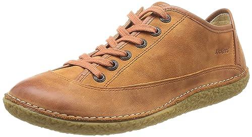 Kickers Hollyday - Zapatillas de Deporte de cuero mujer: Amazon.es: Zapatos y complementos