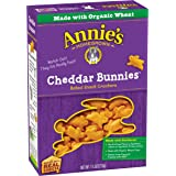Annie's Cheddar Bunnies Baked Snack Crackers 7.5 oz. Box
