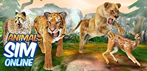Animal Sim Online: Big Cats Simulator 3D by Foxie Games