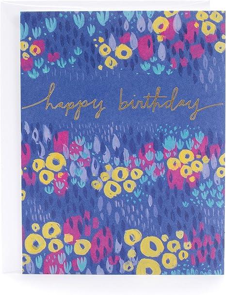 Amazon.com: Tarjeta de cumpleaños de 100 pliegues.: Office ...