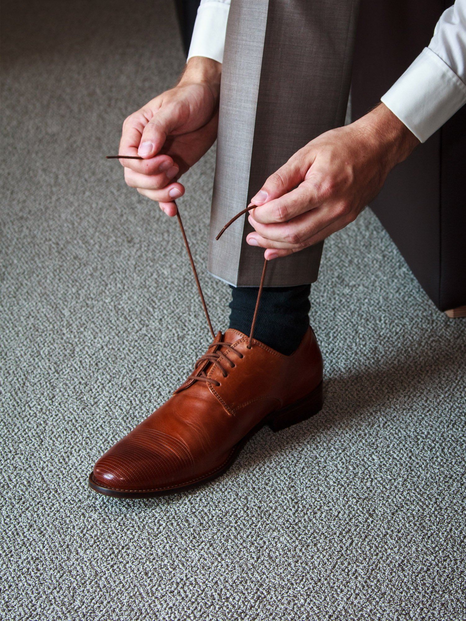 Jovitec Waxed Oxford Shoelaces Cotton Round Waxed Shoe Laces for Dress Shoes, 9 Colors by Jovitec (Image #7)