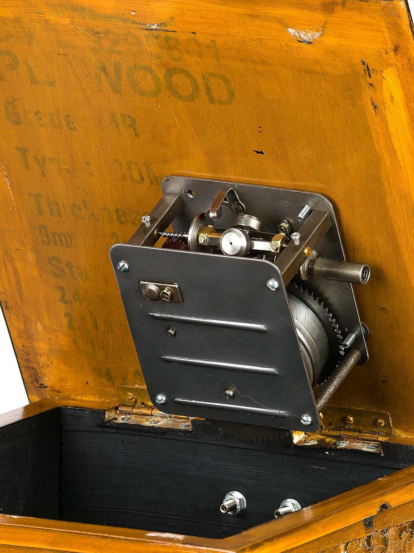 Aubaho Nostalgie Grammophon Schellackplatte Gramophone Gramophone Gramophone Trichtergrammophon antik Stil B00AFDV466 Spieluhren 589e81