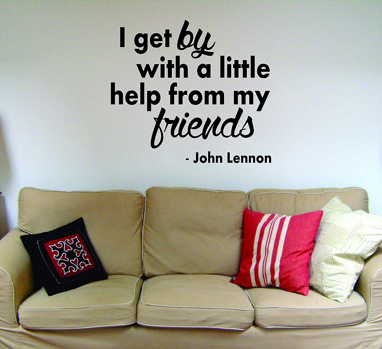 Amazon I Get By With A Little Help From My Friends Beatles John
