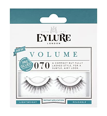 9bf3e8ed8e9 Eylure Pre Glued Strip Lashes No. 070: Amazon.co.uk: Beauty