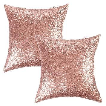 Amazon.com: Kevin Textile Luxurious - Funda de cojín con ...