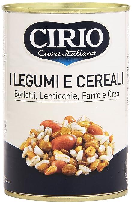 10 opinioni per Cirio- Legumi e Cereali, Borlotti, Lenticchie, Farro e Orzo- 410 g
