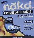 Nakd Bars Cashew Cookie 4 x 35 g (Pack of 3, Total 12 Bars)