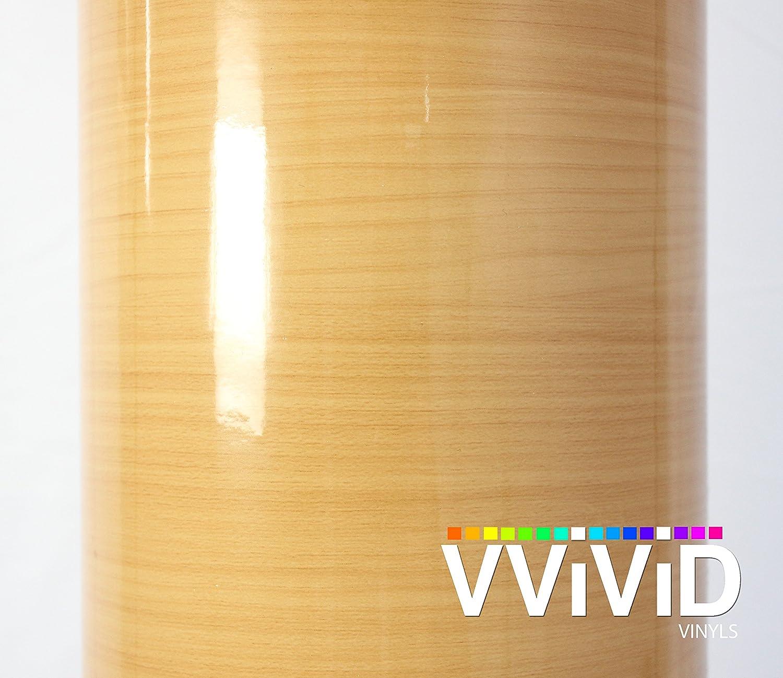 Amazon VVIVID High Gloss Golden Pine Wood Grain Faux Finish