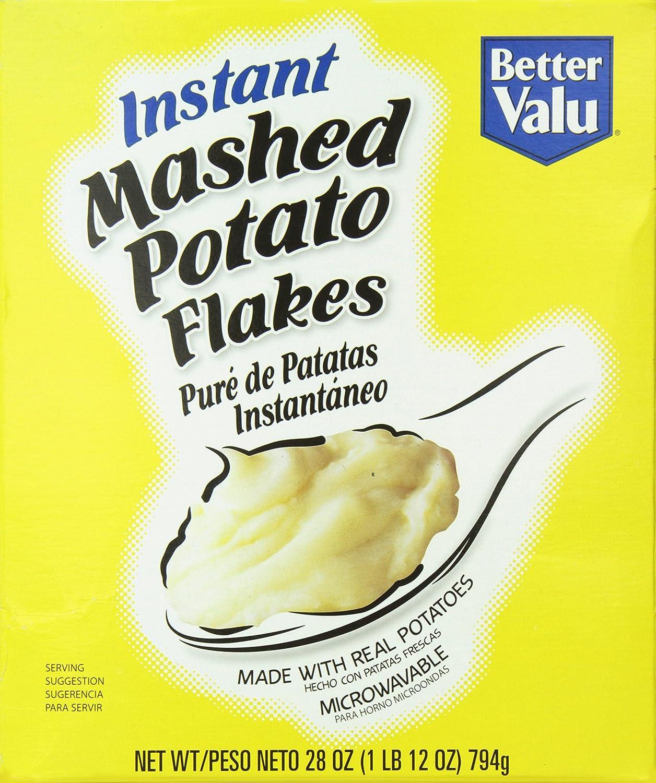 Better Valu Instant Potatoes, 28 Ounce