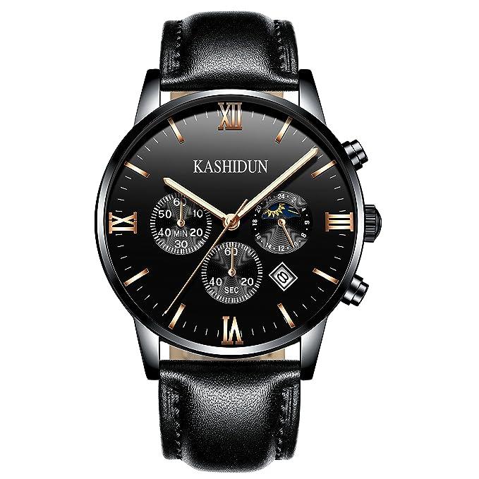 6 opinioni per Kashidun ZH-PD orologio da polso svizzero, al quarzo, da uomo, in stile