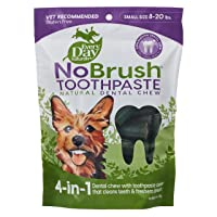 Every Day Naturals Dog Dental Chew, NoBrush Toothpaste for Small Breeds, 10 oz Bag