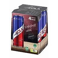 ORGANICS by Red Bull Simply Cola 4 Pack of 250 ml, Organic Soft Drink, 4 x 1000 ml