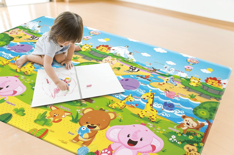 baby play mat foam floor gym non toxic non slip reversible waterproof large ebay. Black Bedroom Furniture Sets. Home Design Ideas
