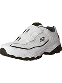 4a65a8949124 Skechers Men s Afterburn Strike Memory Foam Velcro Sneaker