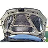Car Sound Noise Buffler 20 Deadening Under Bonnet Hood Sound Proofing Heat proof absorber 20mm 2pcs x 980mm x490mm (0.96 square meter total)
