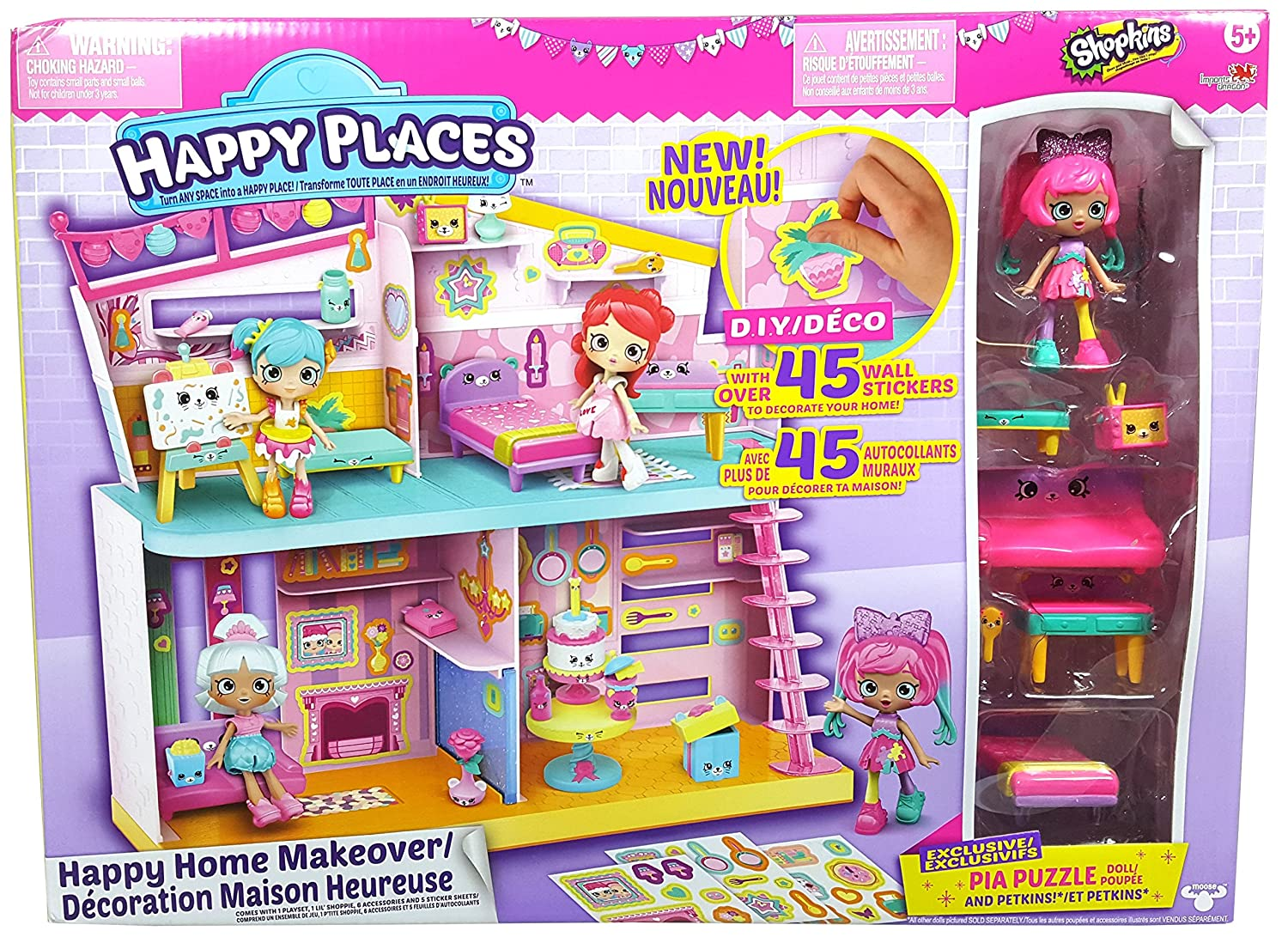 Happy Places ID56914 Shopkins Home Imports Dragon Toys CA