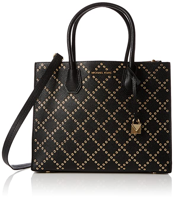 085c9613604d9 Amazon.com  Michael Kors Mercer Tote Bag - Black - 30F7GZ4T3U-001  Shoes