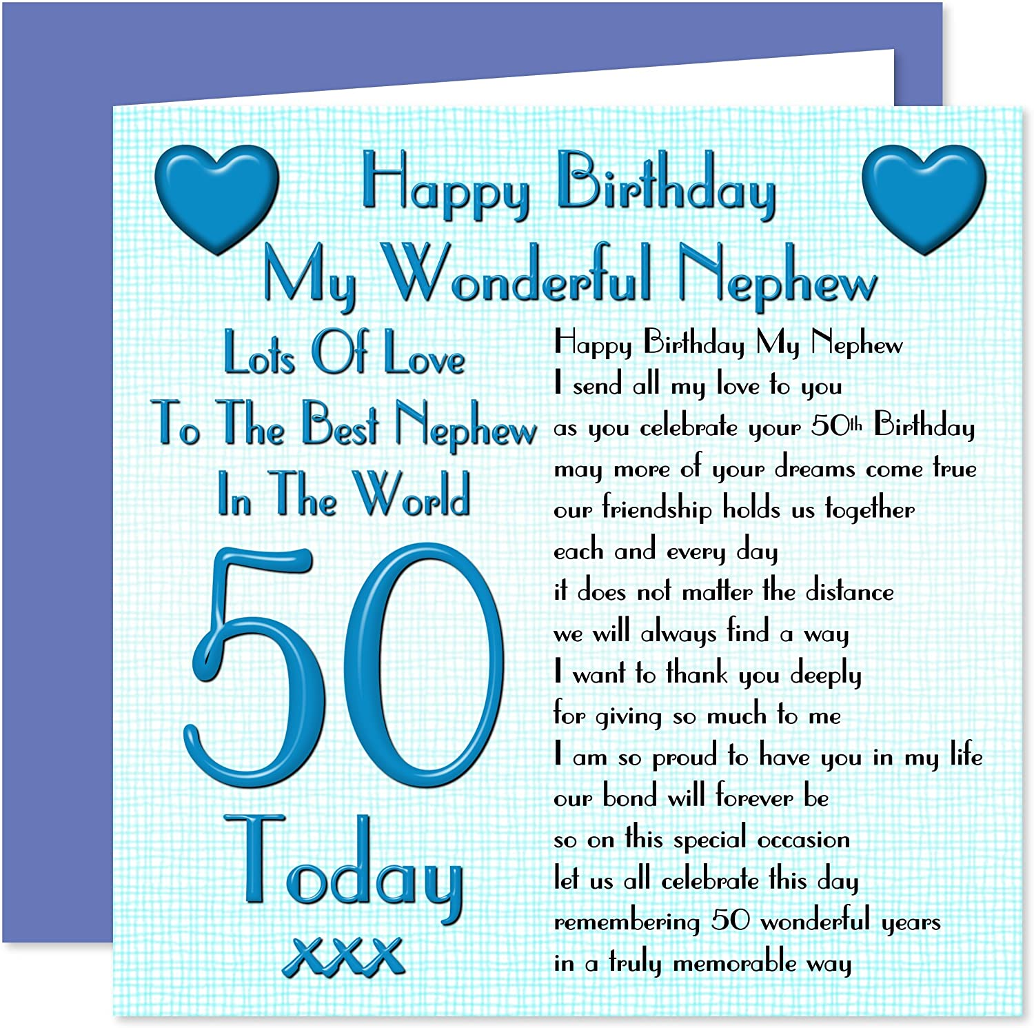 For A Special Brother 18th 18 Word Design Happy Birthday Card Lovely Verse