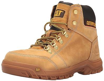 e0ce83d004c Amazon.com | Caterpillar Men's Outline Steel Toe Work Boot, Honey ...