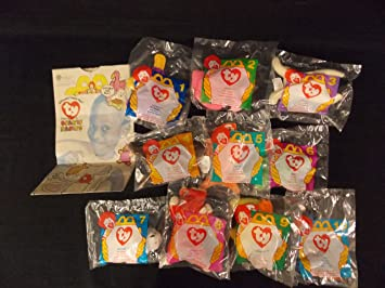 11067afd7bb Image Unavailable. Image not available for. Color  1996 McDonald s Ty  Beanie Babies ...