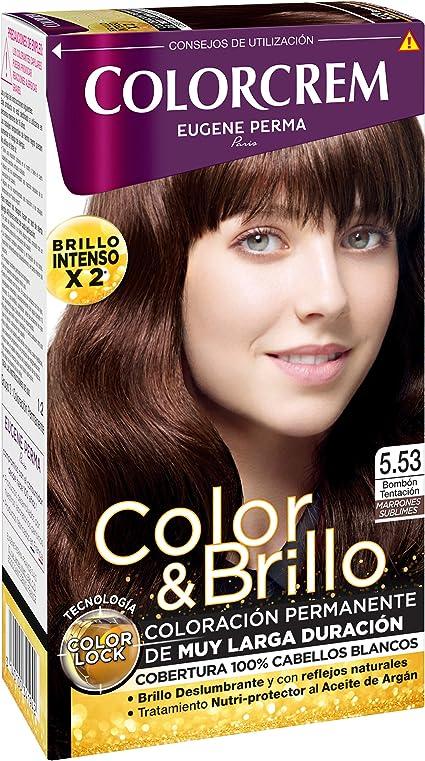 Colorcrem Color & Brillo Tinte Capilar Marrones Sublimes ...