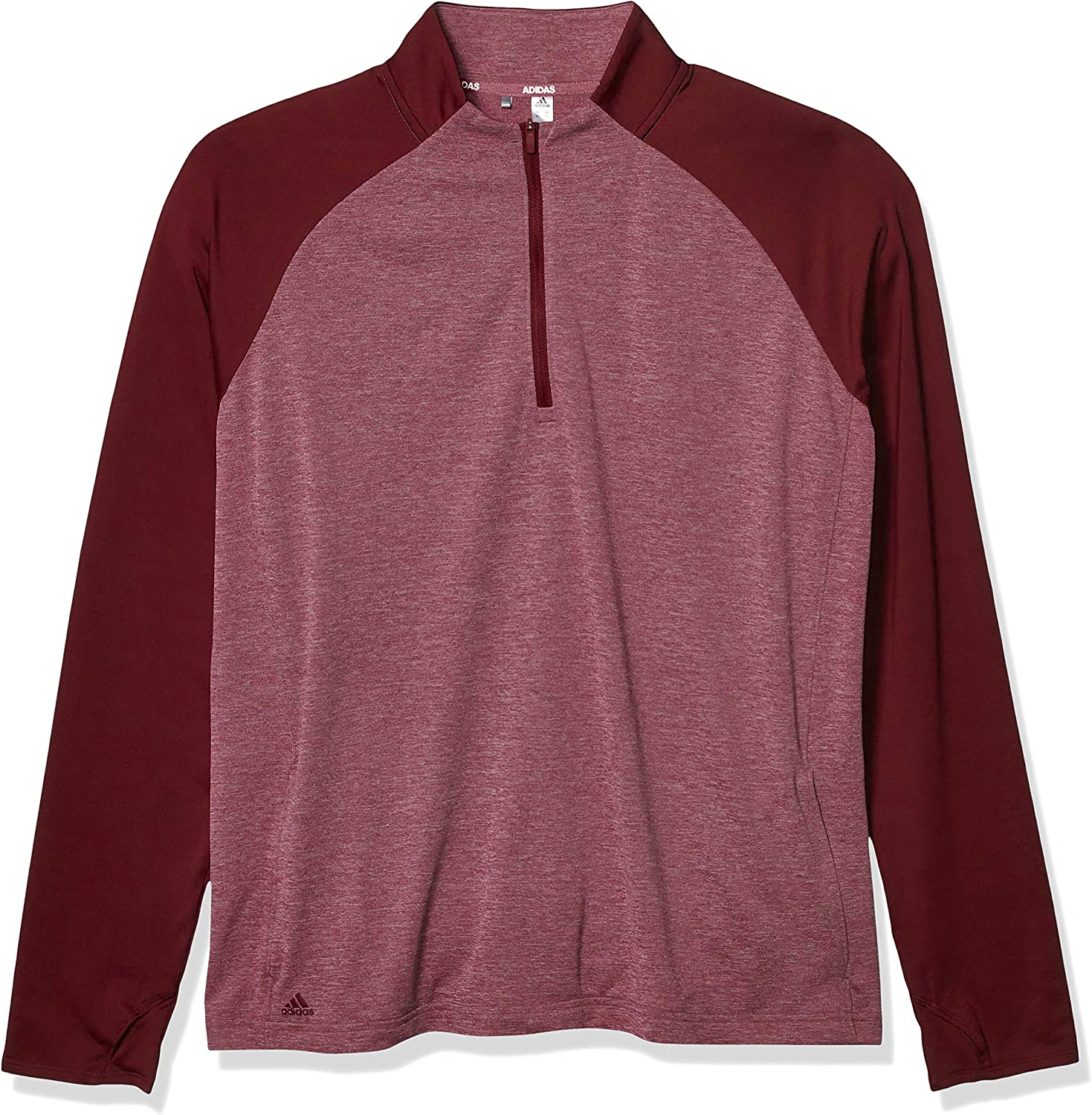 adidas Women's Heathered Half Zip Layer