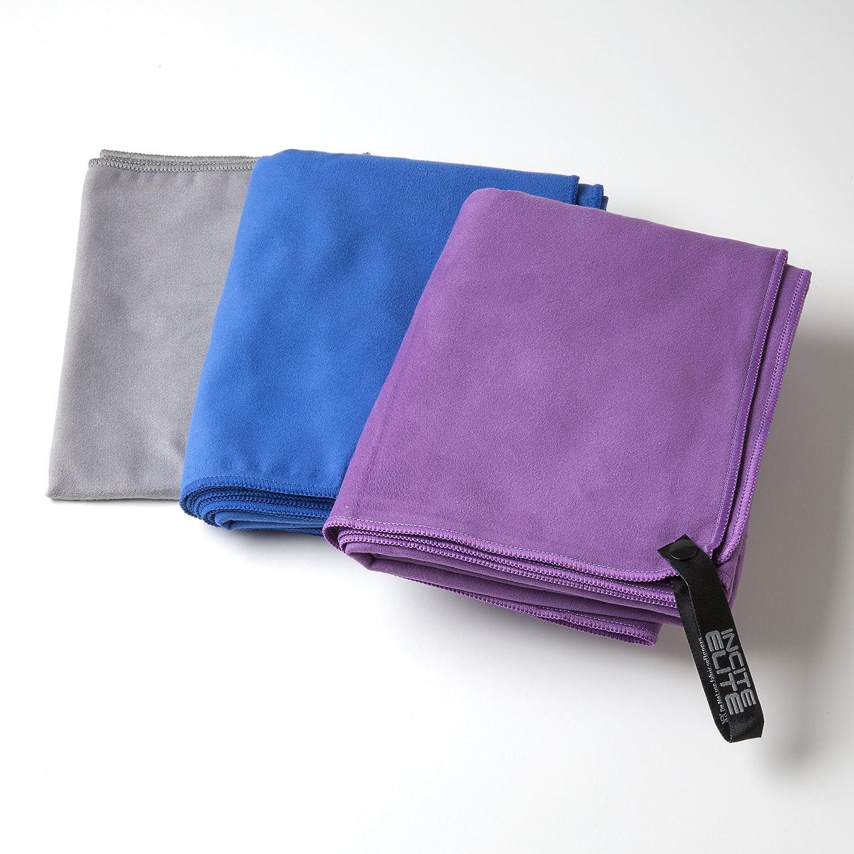 Toalla para Yoga Toalla de Secado R/ápido con Toalla de Mano GRATIS y Garant/ía de por Vida Incluidos Toalla para Gimnasio o Toalla Toalla de Microfibra S/úper Absorbente de Secado R/ápido Apropiada como Toalla de Deportes